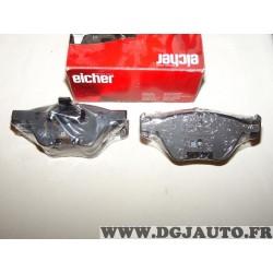 Jeux 4 plaquettes de frein avant montage teves Eicher 101110609 pour BMW serie 1 3 5 X1 Z4 E60 E61 E81 E82 E84 E87 E88 E89 E90 E