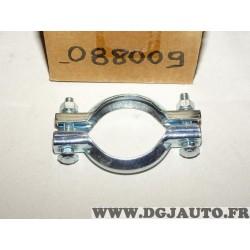 Collier serrage tuyau silencieux echappement 66mm diametre Romax 088009 pour fiat lancia alfa romeo renault peugeot citroen opel
