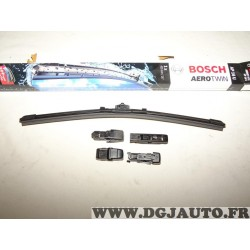 Balais essuie glace souple 400mm aerotwin avec 4 adaptateurs Bosch AP16U 3397006829 pour alfa romeo 147 GT citroen berlingo 2 II