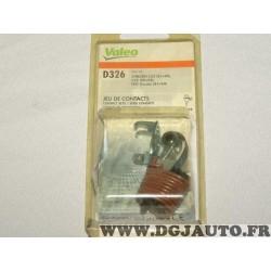 Jeu de contact rupteur vis platinée montage ducellier Valeo D326 582417 pour citroen C25 fiat ducato peugeot 504 505 J5 J9 1.8 2