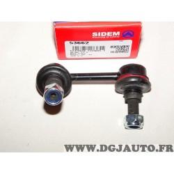 Rotule biellette barre stabilisatrice Sidem 53662 pour peugeot 605 607