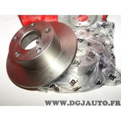 Paire disques de frein arriere 244.4mm diametre plein Eicher 104440199 pour audi 100 A6 skoda superb volkswagen passat B5