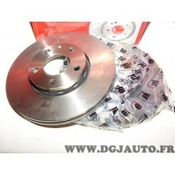 Paire disques de frein avant 288mm diametre ventilé Eicher 104440189 pour audi 100 A4 A6 seat exeo skoda superb volkswagen passa