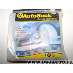 Paire chaussettes neige Autosock 698 pour pneus roue jante 245/85/15 255/75/15 265/70/15 165/75/15 215/85/16 245/75/16 255/70/16