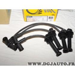 Jeu cable faisceau fils allumage bougie NGK 8541 pour ford bmax b-max cmax c-max fiesta 4 5 6 IV V VI focus 1 2 3 I II III fusio