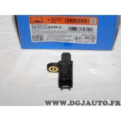 Capteur ABS vitesse de roue arriere ATE 360256 24.0711-6220.3 pour ford cmax c-max focus 2 II galaxy 2 II kuga mondeo 4 IV smax
