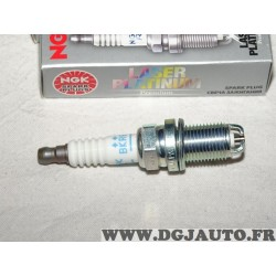 Lot 2 bougies allumage double electrode NGK 2513 BKR6EKPA pour alfa romeo 145 146 147 155 156 166 GT GTV spider 1.6 1.8 2.0 esse