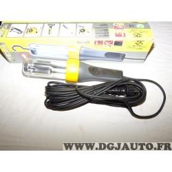 Lampe balladeuse Zeca 375/10 E27 15W max 10m de cable