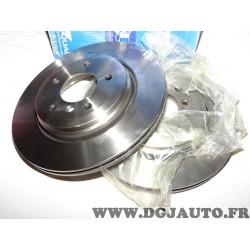 Paire disques de frein avant plein 320mm diametre Requal RDV179 pour BMW serie 3 E46 325 330