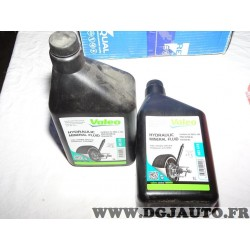 1 Bidon huile hydraulique mineral fluid LHM 1L 1 litre Valeo 402410 pour citroen BX CX DS GS ID SM xantia XM
