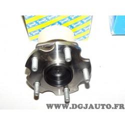 Moyeu roulement de roue arriere SNR R169.66 pour toyota avensis T25 avec ABS de 2005 à 2008