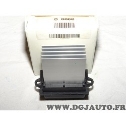 Resistance pulseur air chauffage ventilation KW D8060 pour citroen C2 C3 C5 nissan micra K12 note E11 peugeot 207 406 607 1007 r