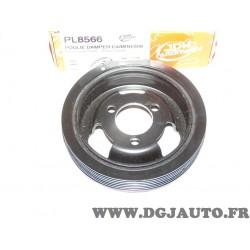 Poulie damper vilebrequin JDH automotiv PL8566 pour citroen berlingo C3 C4 C5 DS3 DS4 DS5 BMW serie 1 3 F20 F21 F30 F31 F80 mini