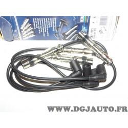 Jeu cable faisceau fils allumage bougie Beru ZEF1572 0300891572 pour seat ibiza 3 III volkswagen polo 4 IV 1.6 fox 1.4