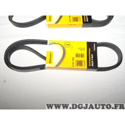 1 Courroie accessoire Continental 6PK1165 pour BMW serie 1 2 3 4 F20 F21 F22 F23 F30 F31 F32 F33 F36 F80 F82 F83 F87 citroen ber