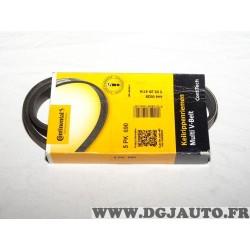 Courroie accessoire Continental 5PK690 pour citroen AX XM peugeot 106