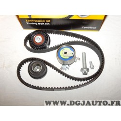 Kit de distribution galets + courroie Continental CT975K2 pour opel astra G zafira A 1.4 1.6 1.8 essence