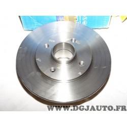Disque de frein arriere plein 238mm diametre sans roulement TOUT SEUL Requal RDP246 pour renault 9 11 R9 R11 super 5