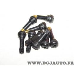 Lot 9 valves gonflage de pneu roue (3 sans bouchons) TR414