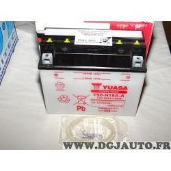 Batterie 12V 21.1AH 240A Yuasa Y50-N18A-A NW336 pour moto quad demarrage vehicule sport mecanique