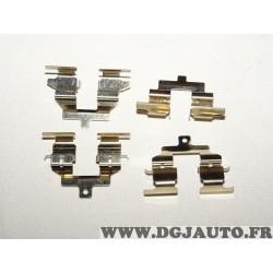 Kit fixation plaquettes de frein montage brembo Hitec H9392 pour fiat ducato 3 III peugeot boxer citroen jumper partir de 2006