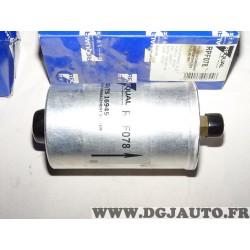 Filtre à carburant essence Requal RPF078 pour audi 80 90 100 volkswagen corrado golf 1 2 I II jetta 2 II passat B2 B3 B4 santana