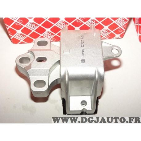 Support moteur gauche Febi 22722 pour volkswagen bora golf 4 IV new beetle 1.4 16V essence