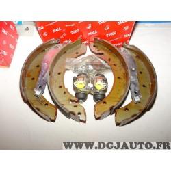 Kit frein arriere 255x47mm montage lucas TRW BK1231 pour peugeot 504 505
