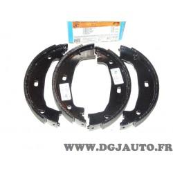 Jeux 4 machoires de frein arriere 161x20mm montage bendix ATE 650379 03.0137-0379.2 pour BMW serie 1 2 3 4 E81 E82 E87 E88 F20 F