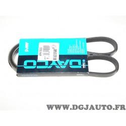 Courroie accessoire Dayco 4PK1000 pour mazda 323 xedos 6 mitsubishi pajero V20