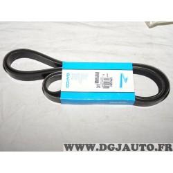 Courroie accessoire 6PK2255 pour mazda 6 GG GH GY daewoo ssangyong korando musso actyon kyron rexton rodius toyota land cruiser