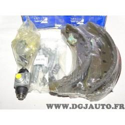 Kit frein arriere montage teves 230x40mm diametre Requal RPK133 pour audi 80 100 seat inca volkswagen caddy 2 II passat B3 B4