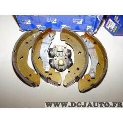 Kit frein arriere (sans accessoires ressorts sans réclamation) 254x52mm diametre montage bosch Requal RPK139 pour ford transit 5