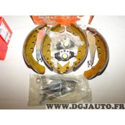 Kit frein arriere montage teves 230x40mm diametre Easy kit OPK227 pour volkswagen passat B3 B4 audi 100 seat inca