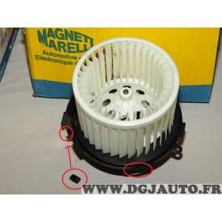 Pulseur air chauffage ventilation (voir 2 petits elements plastique cassé inclus sans reclamation) Magneti marelli 069401320010