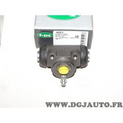 Cylindre de roue frein arriere montage lucas LPR 4661 pour peugeot 205