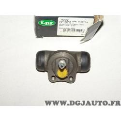 Cylindre de roue frein arriere montage teves LPR 4202 pour opel corsa A kadett C D E