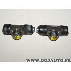 Lot 2 cylindres de roue frein arriere montage teves LPR 4912 pour audi 50 80 90 100 seat arosa cordoba 1 2 I II ibiza 2 3 II III
