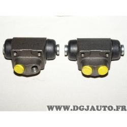 Lot 2 cylindres de roue frein arriere montage lucas LPR 4258 pour ford escort 3 4 5 6 7 III IV V VI VII focus 1 2 I II ka orion