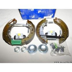Kit frein arriere prémonté 203x38mm Requal RSK117 pour citroen C2 C3