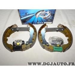 Kit frein arriere prémonté 228x44mm montage TRW Requal RSK084 pour ford mondeo 1 2 I II