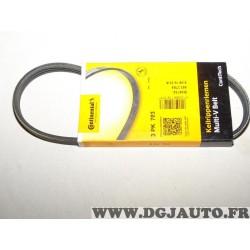 Courroie accessoire Continental 3PK703 pour renault clio 1 I 1.2 1.4 essence