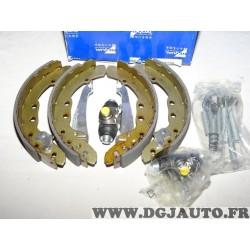 Kit frein arriere 230x40mm montage teves Requal RPK046 pour audi 80 100 seat inca volkswagen caddy 1 2 I II golf 3 III passat B3