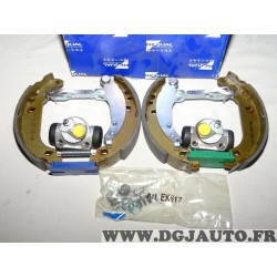 Kit frein arriere prémonté montage bendix Requal RSK091 pour renault 19 R19