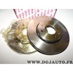 Paire disques de frein avant ventilé 281mm diametre Dyx RDV279 pour volvo S40 V40 mitsubishi carisma