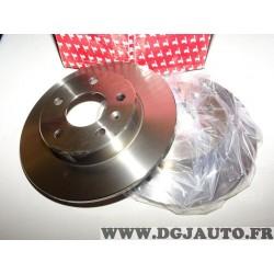 Paire disques de frein arriere plein 264mm diametre Red top REDD060 pour astra G H corsa C mervia A B zafira A B