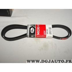 Courroie accessoire Gates 6PK1853 pour fiat brava bravo coupé marea strada alfa romeo 145 146 147 156 GTV spider 1.6 1.8 2.0 ess