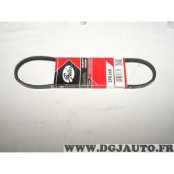 Courroie accessoire Gates 3PK660 pour hyundai elantra XD matric FC 1.8 essence subaru justy 1.0 1.2 essence