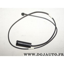 Contacteur capteur temoin usure plaquettes de frein arriere Pex WK283SET pour BMW serie 3 E36 dont Z3