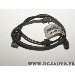 Contacteur capteur temoin usure plaquettes de frein avant Pex WK502 pour opel astra G H combo C zafira A